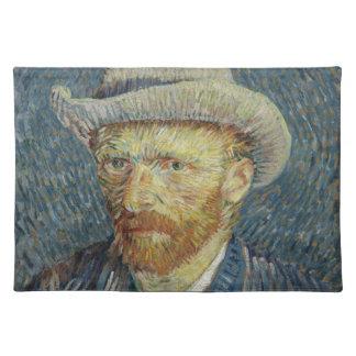 Vincent Van Gogh Self Portrait with Grey Felt Hat Placemat