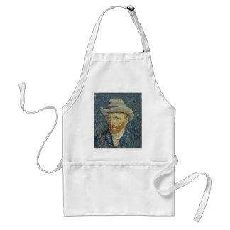 Vincent Van Gogh Self Portrait with Grey Felt Hat Standard Apron