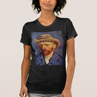 Vincent Van Gogh - Self Portrait with hat T-Shirt