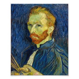 Vincent Van Gogh Self Portrait With Palette Photo Print
