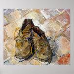 Vincent van Gogh Shoes Poster