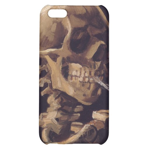 Vincent Van Gogh - Skull with a Burning Cigarette iPhone 5C Covers