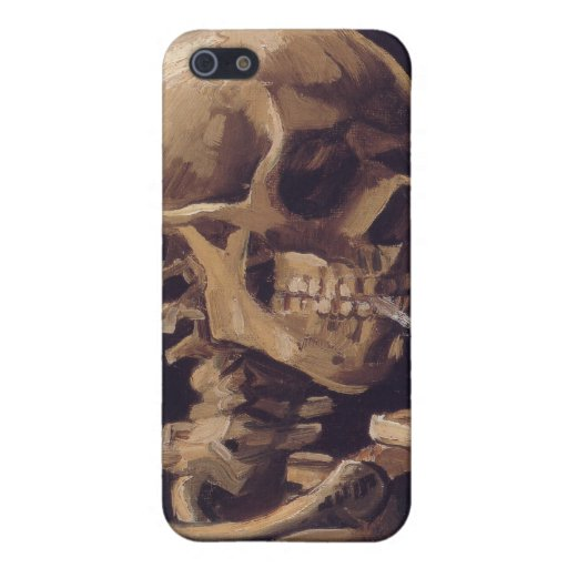 Vincent Van Gogh - Skull with a Burning Cigarette Case For iPhone 5