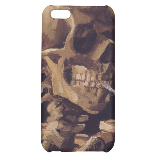 Vincent Van Gogh - Skull with Burning Cigarette iPhone 5C Cover