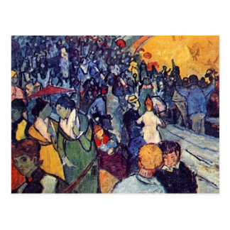 Vincent Van Gogh - Spectators In The Arena Postcard