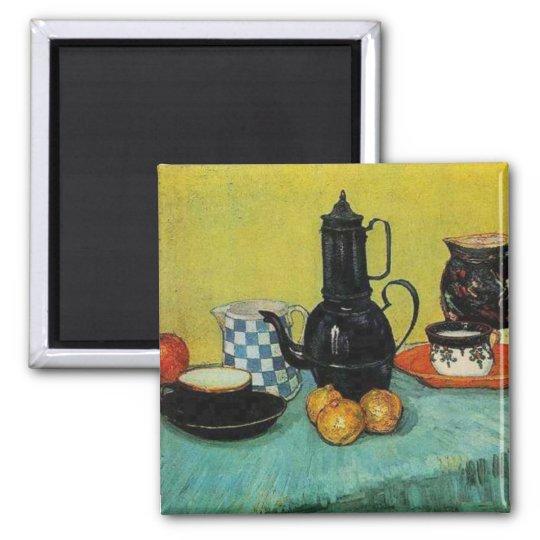 Vincent van Gogh Square Magnet