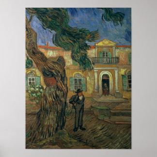 Vincent van Gogh | St. Paul's Hospital, St Remy Poster