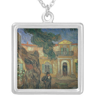 Vincent van Gogh | St. Paul's Hospital, St Remy Silver Plated Necklace