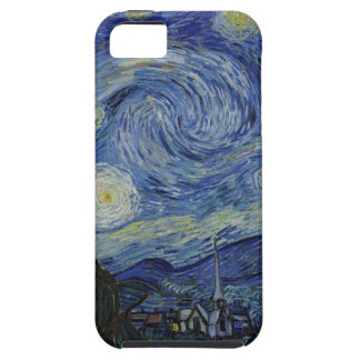 Vincent Van Gogh - Starry Night. Art Painting iPhone 5 Cases