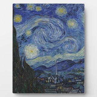 Vincent Van Gogh - Starry Night. Art Painting Plaques