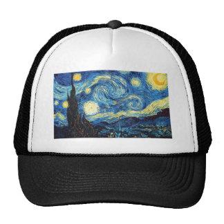 Vincent Van Gogh - Starry Night Cap