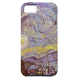 Vincent Van Gogh Starry Night iPhone 5 Cases