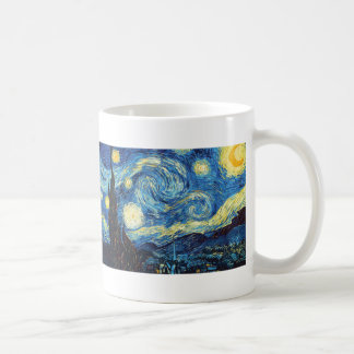 Vincent Van Gogh - Starry Night Classic White Coffee Mug