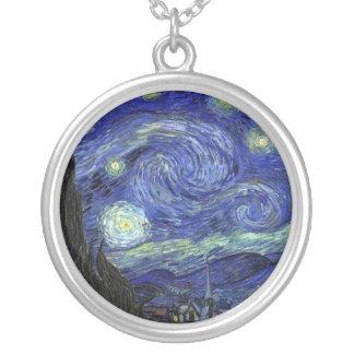 Vincent van Gogh Starry Night Pendants
