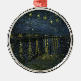 Vincent Van Gogh Starry Night Over the Rhone Art Christmas Ornament