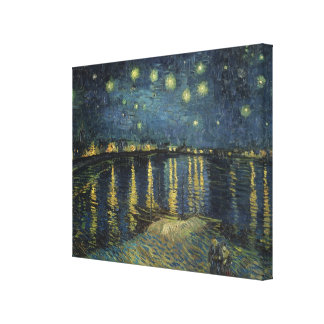 Vincent van Gogh | Starry Night Over the Rhone Canvas Prints