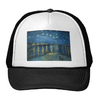 Vincent Van Gogh Starry Night Over the Rhone Cap