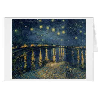 Vincent van Gogh | Starry Night Over the Rhone Card