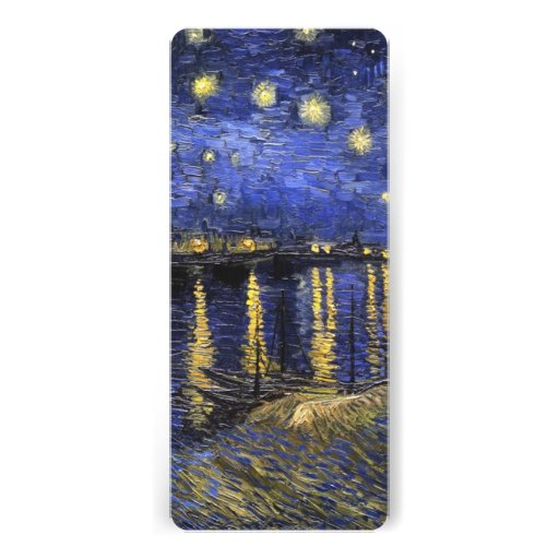 Vincent Van Gogh Starry Night Over The Rhone Personalized Invitations