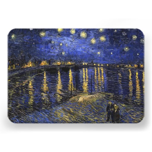 Vincent Van Gogh Starry Night Over The Rhone Announcement