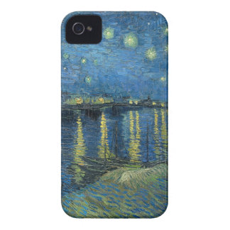 Vincent Van Gogh Starry Night Over the Rhone iPhone 4 Covers