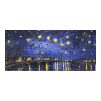 Vincent Van Gogh Starry Night Over The Rhone Magnetic Invitations