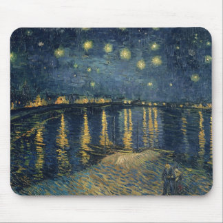 Vincent van Gogh | Starry Night Over the Rhone Mouse Mat