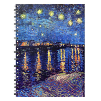 Vincent Van Gogh - Starry Night Over The Rhone Notebook