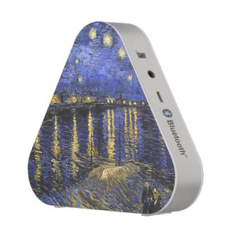 Vincent Van Gogh Starry Night Over The Rhone Bluetooth Speaker
