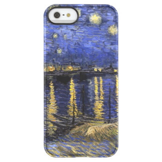 Vincent Van Gogh Starry Night Over The Rhone Permafrost® iPhone SE/5/5s Case