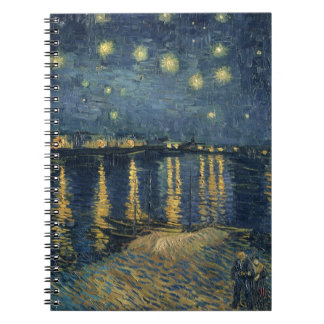 Vincent van Gogh | Starry Night Over the Rhone Spiral Note Book
