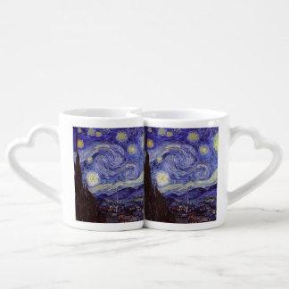 Vincent Van Gogh Starry Night Couples Mug