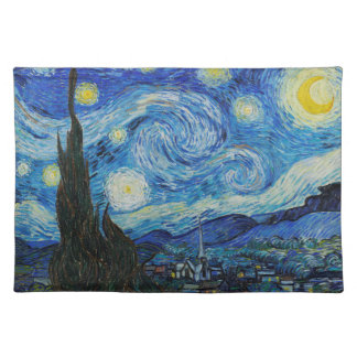 Vincent van Gogh - Starry Night Placemat