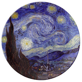 Vincent Van Gogh Starry Night Plate