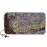Vincent Van Gogh Starry Night Portable Speakers