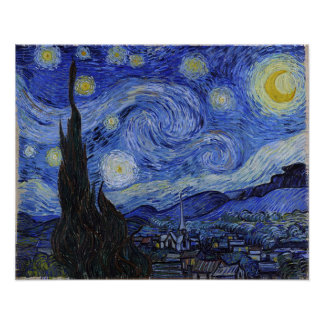 "Vincent Van Gogh ""Starry Night"" Poster"