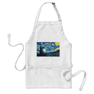 Vincent Van Gogh - Starry Night Standard Apron
