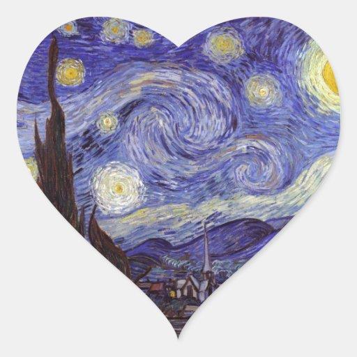 Vincent Van Gogh Starry Night Stickers
