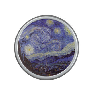 Vincent Van Gogh Starry Night Vintage Fine Art Bluetooth Speaker