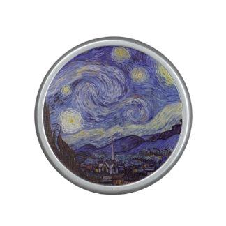 Vincent Van Gogh Starry Night Vintage Fine Art Bluetooth Speaker