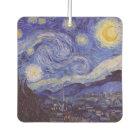 Vincent Van Gogh Starry Night Vintage Fine Art Car Air Freshener