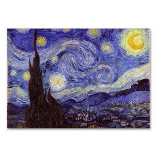 Vincent Van Gogh Starry Night Vintage Fine Art Card