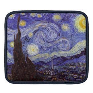 Vincent Van Gogh Starry Night Vintage Fine Art Sleeves For iPads