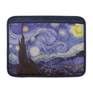 Vincent Van Gogh Starry Night Vintage Fine Art MacBook Sleeves