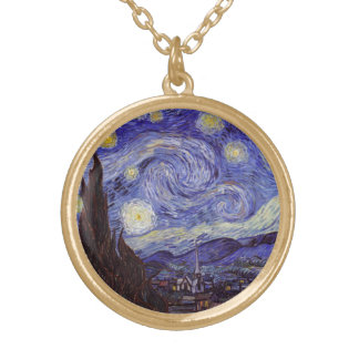 Vincent Van Gogh Starry Night Vintage Fine Art Jewelry
