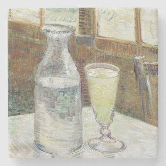 Vincent Van Gogh Still Life With Absinthe Fine Art Stone Beverage Coaster