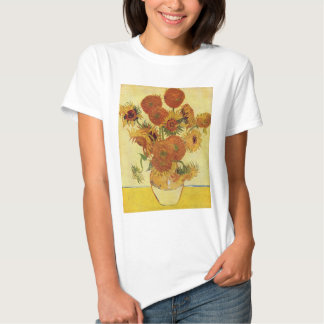 Vincent van Gogh - Still Life with Sunflowers Shirts
