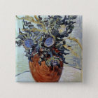 Vincent van Gogh | Still Life with Thistles, 1890 15 Cm Square Badge