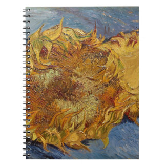 Vincent van Gogh | Sunflowers, 1887 Note Books