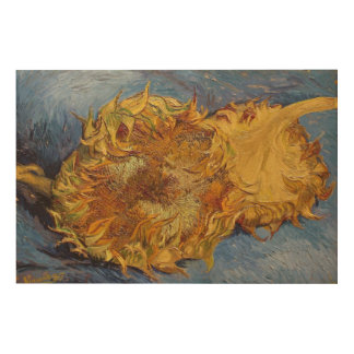 Vincent van Gogh | Sunflowers, 1887 Wood Wall Art
